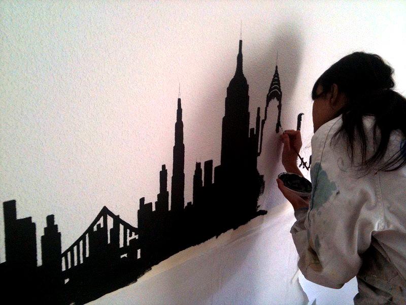 Vinilos para paredes con gotel - Como quitar el gotele de una habitacion ...