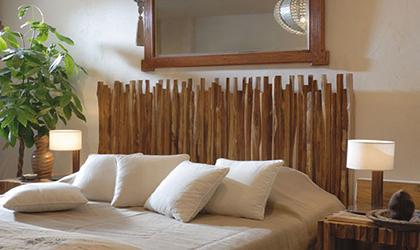 Ideas para decorar con madera - Tronco madera decoracion ...
