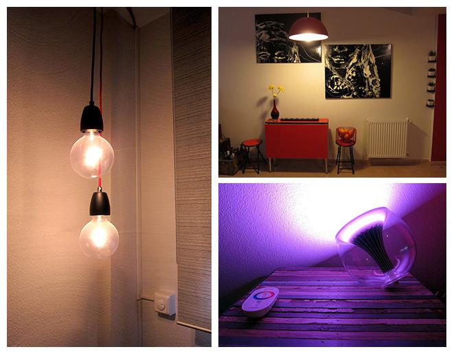 L mparas para que la casa brille con luz propia for Lamparas salon ikea