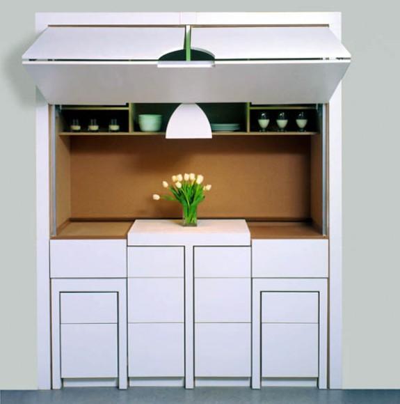 Muebles escondidos para aprovechar cada rinc n for Muebles para microondas modelos