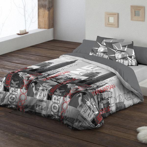 La dif cil tarea de vestir la cama en verano for Fundas nordicas juveniles chico