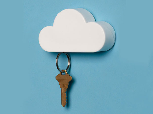 Magnetic-Cloud-Key-Holder