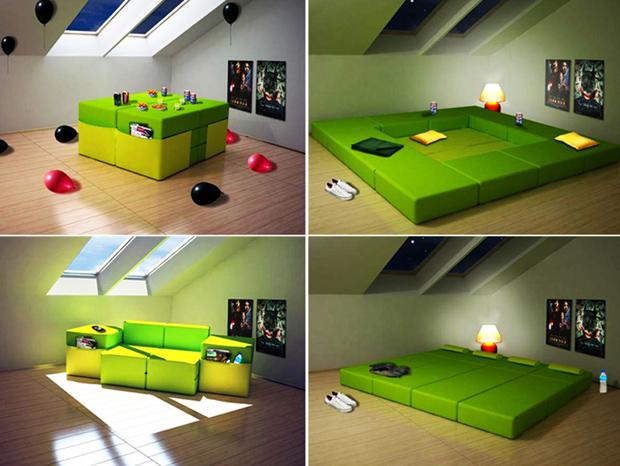 Los sof s cama m s originales for Sofas comodos y baratos