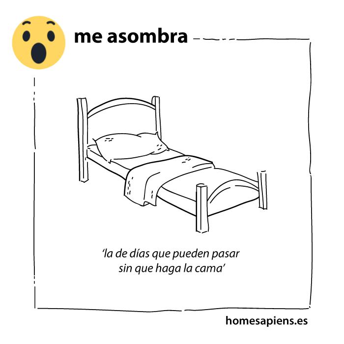me_asombra