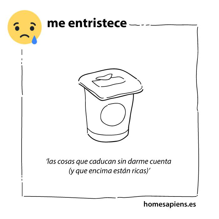 me_entristece